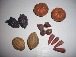 Latest fruit and veg.