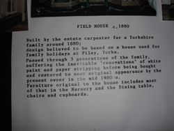 Info about the 1880s house