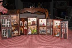 Tiny box houses.