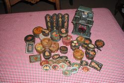 Some decoupage items.