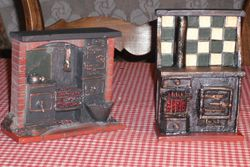Hand painted stoves.