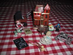 Toys from my Victorian house.