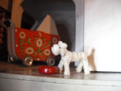Cute dog made by Barbara.