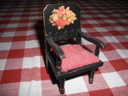 Decoupage chair.