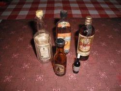 Dolls house booze!