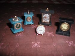 Some clocks made by Joan