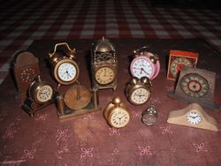Some of Joans clocks