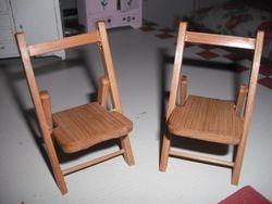 Nice folding chairs.