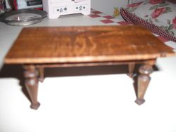 I think this old table might be German.