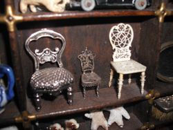 Tiny chairs.