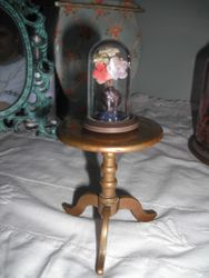 Brass table from landing of Edwardian house