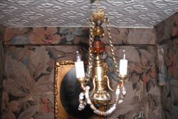 A customised chandelier.