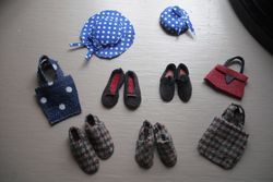 Diane's shoes, bags and hats!
