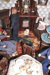 Handbag carpet.