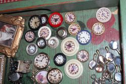 A close up of the clocks for Valerie.