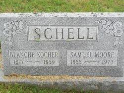 Samuel Moore & Blanche Kocher Schell