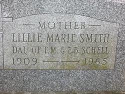 Lillie Marie (Schell) Smith (1909-1965)