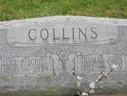 Thomas John and Elsie P. (Schell) Collins