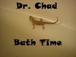 Dr. Chad Bath time