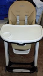 checked out-Peg Perego brown high chair