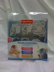 3. checked out-Fisher Price Private Connection Monitor w/ dual receivers-