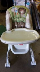 4. Fisher Price High Chair-currently checked out