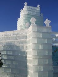 Ice Castle in Eagle River