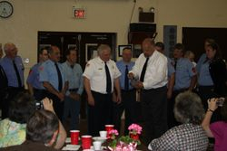 Recognition for being Chief for 30 years