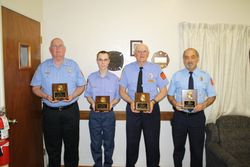 Members with Their Awards