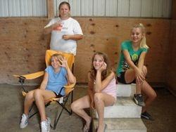 Alex, Hannah, Nikki, and Stephi