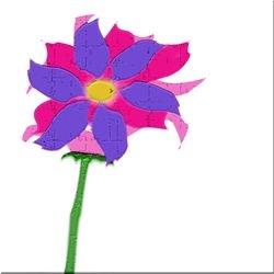 Flower in 3D