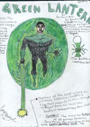 Cory Morr as Kyle Rayner the Green Lantern