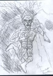 The Flash 1st drawing