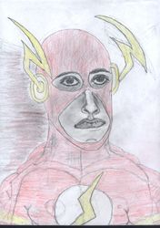 """Cory Morr as Wally West,""""The Flash"""""""