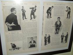 Old Houdini press