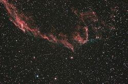 The Eastern Veil Nebula (NGC 6992)