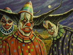 Voo Doo Clowns No.2