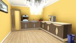 kitchen off green room
