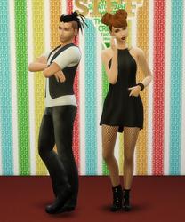 Newt Davies & Galia Rockman