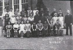 Walker Township School-1945-grade 7