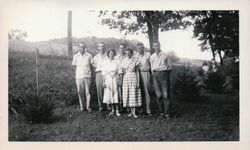 Emanuel & Catharine (Widner) Norris's family-1950