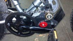 48v450w belt reduction mid drive