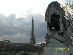The Lion and The Eiffel