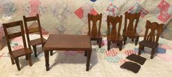 Mystery ~ Dining Table and Chairs