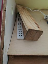 Handmade ~ Wooden Doll House ~ Hiding Wires