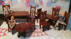 Mystery ~ Tables with Chairs
