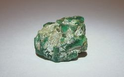 Emerald on matrix, Pakistan