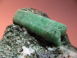 Chinese emerald on matrix