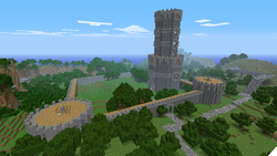 Green Vale Castle - Walls Almost Done