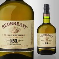 Red Breast 21 year pot stil